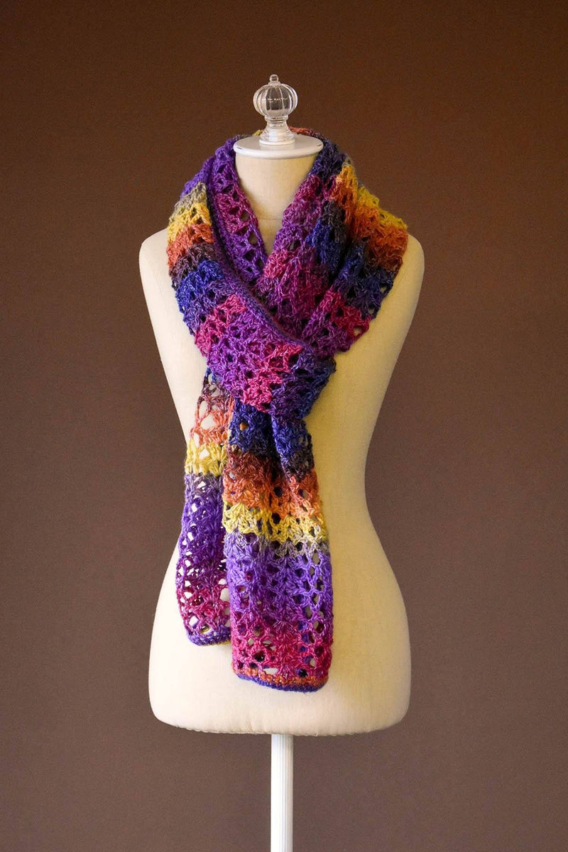 Tropical Crochet Wrap Pattern Universal Yarn