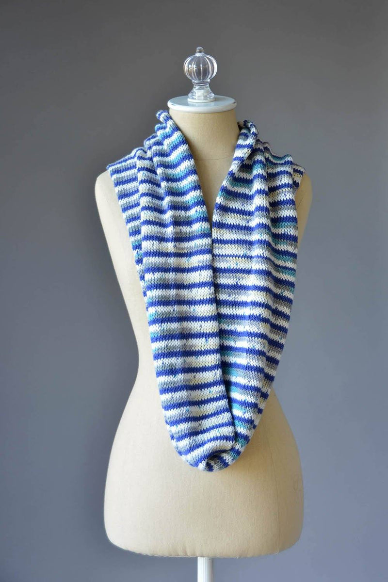 Try Stripe Cowl Pattern Universal Yarn
