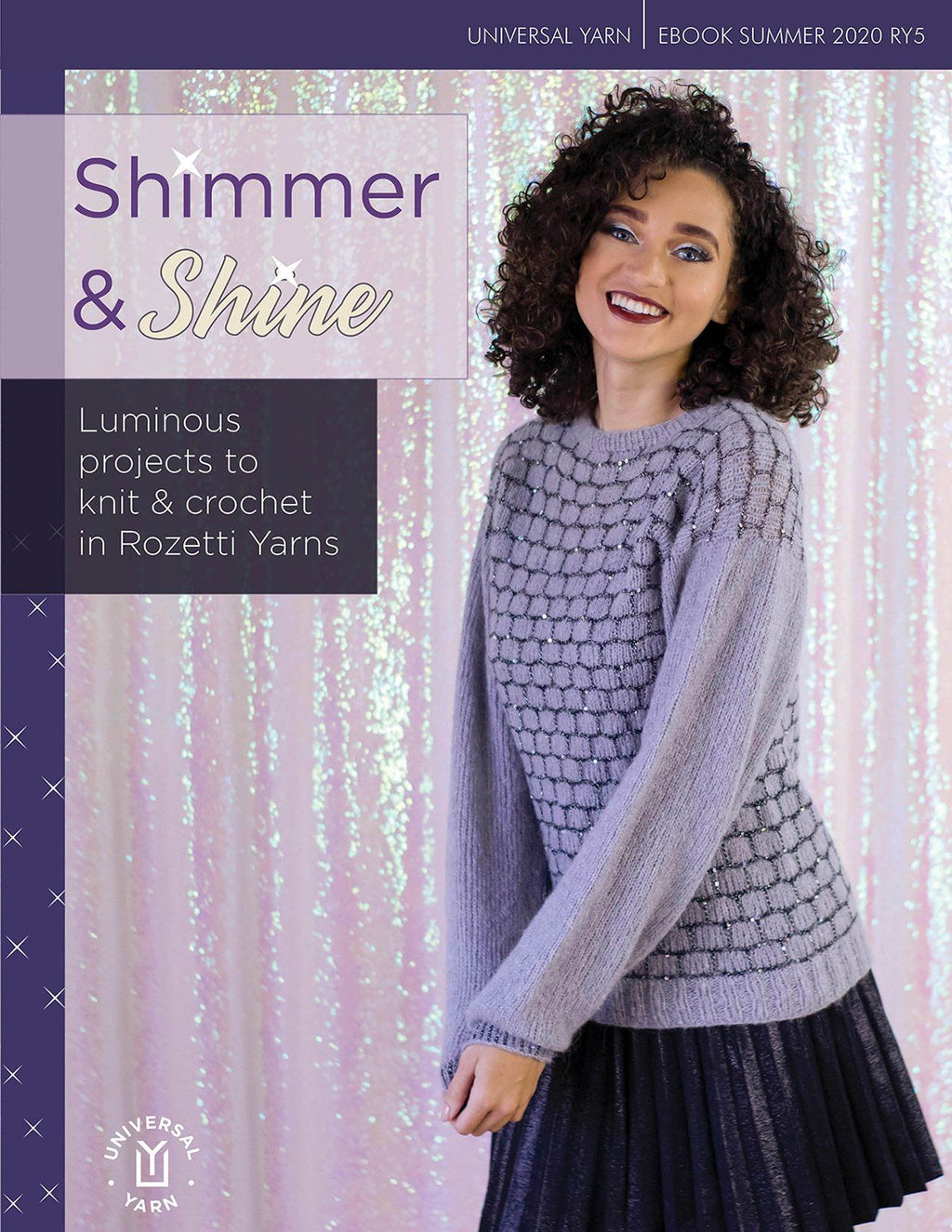 Shimmer & Shine Pattern Rozetti Yarns