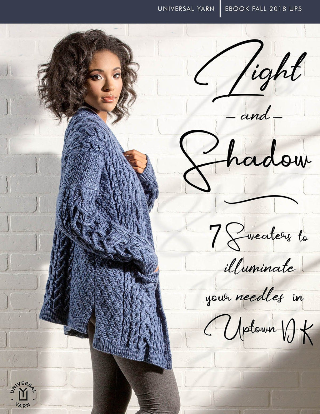Uptown DK: Light and Shadow Pattern Universal Yarn
