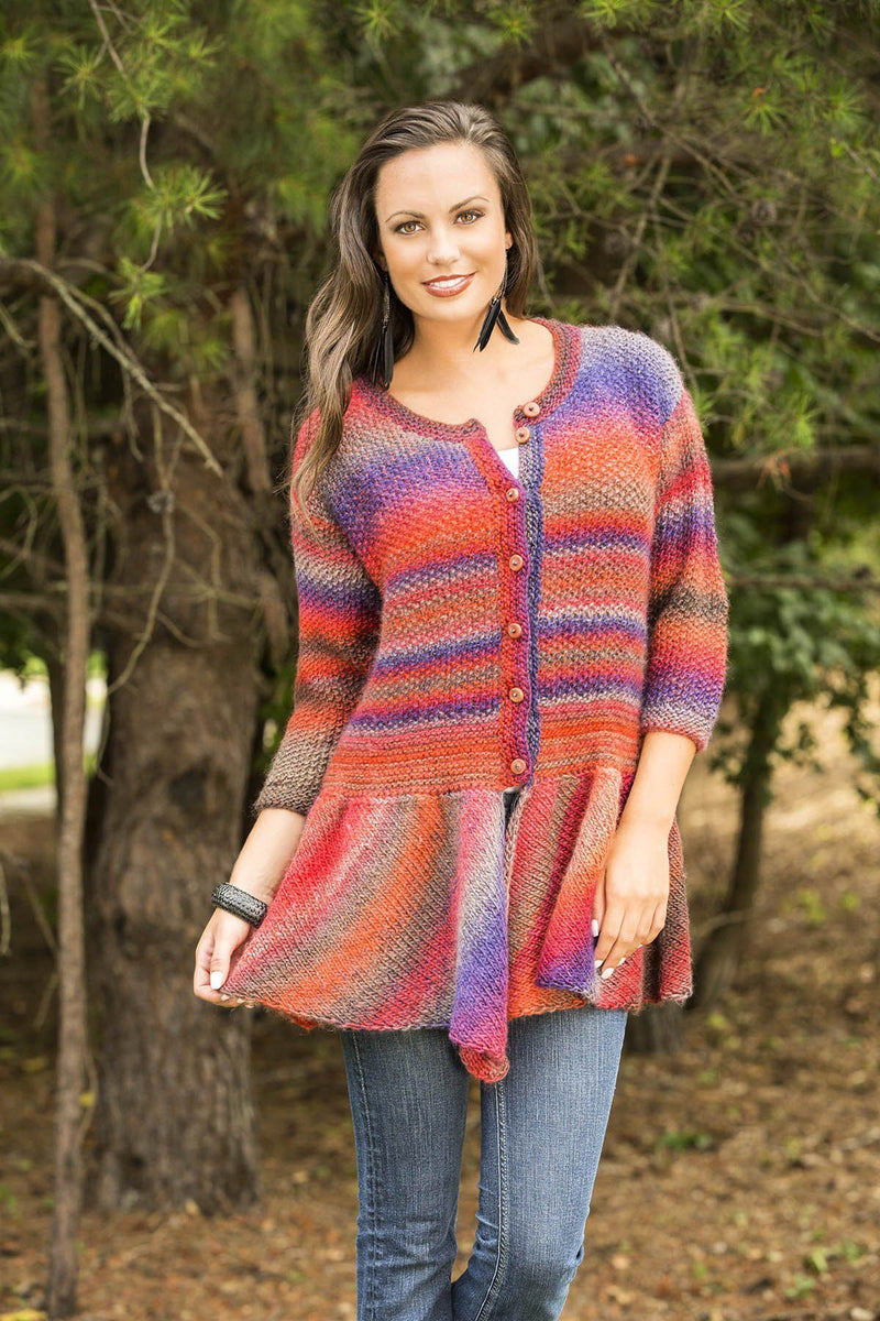 Walking Bird Cardigan Pattern Universal Yarn