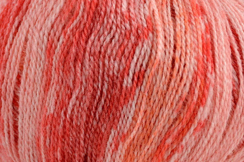 Whisper Lace Yarn Fibra Natura 211 Red Azalea