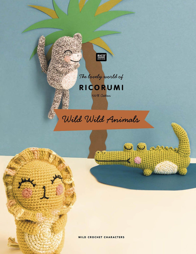 Ricorumi Wild Wild Animals Book Rico WILD WILD ANIMALS GB