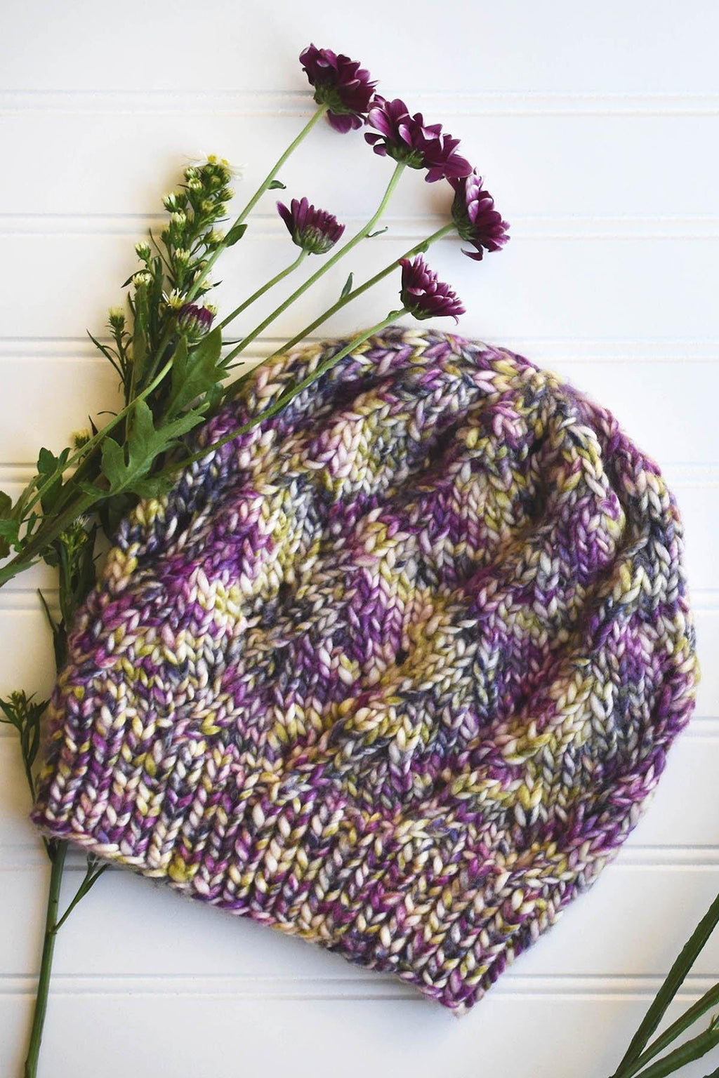 Wisteria Hat Pattern Rozetti Yarns