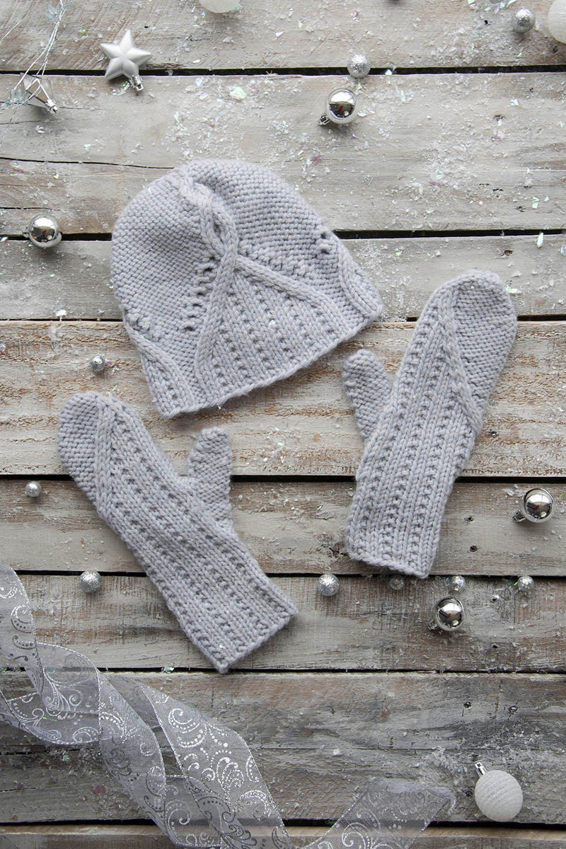 First Frost Accessory Set Pattern Universal Yarn