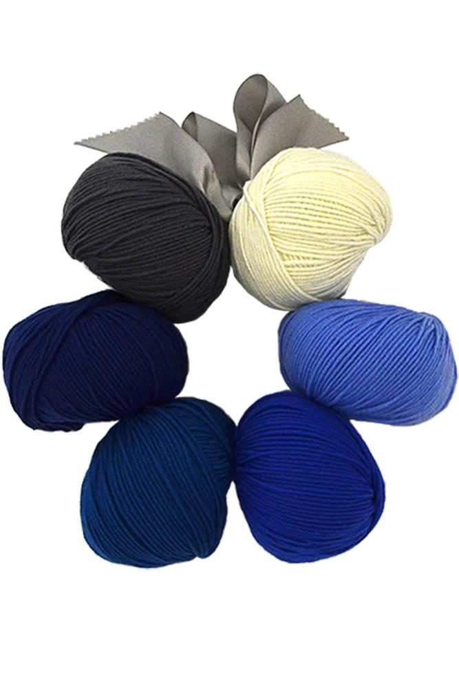 Dona Color Kits - Blues Kit Universal Yarn
