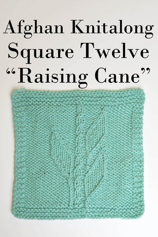 Afghan Knitalong Square 2 - Do The Wave