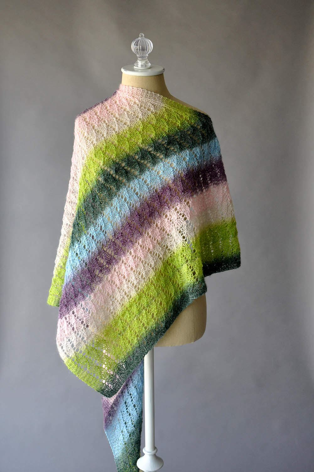 Arbuz Shawl Pattern Rozetti Yarns