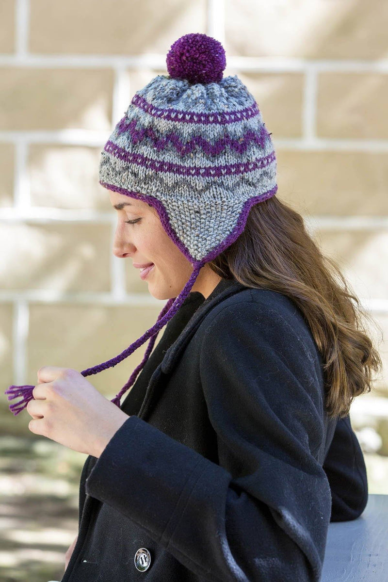 Expedition Hat and Scarf Pattern Universal Yarn
