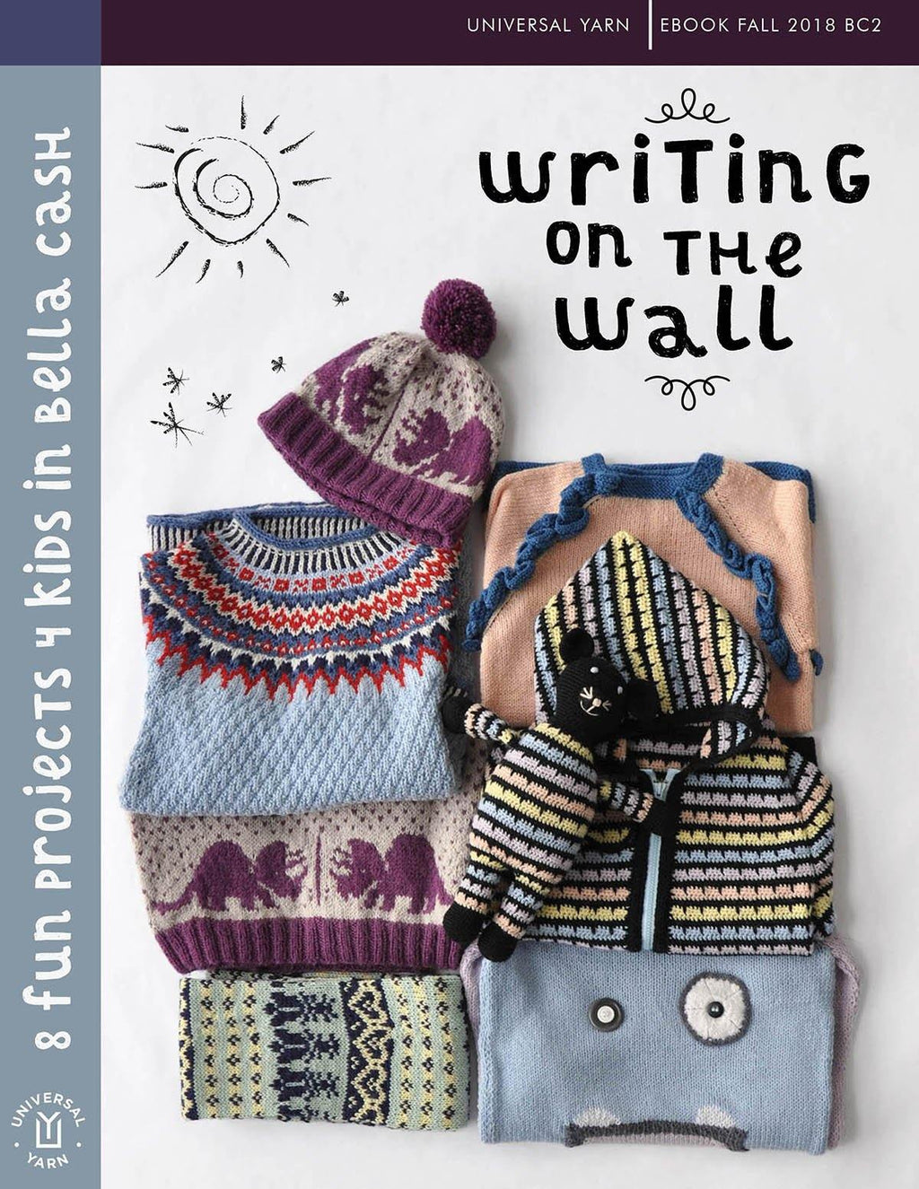 Writing on the Wall Pattern Universal Yarn