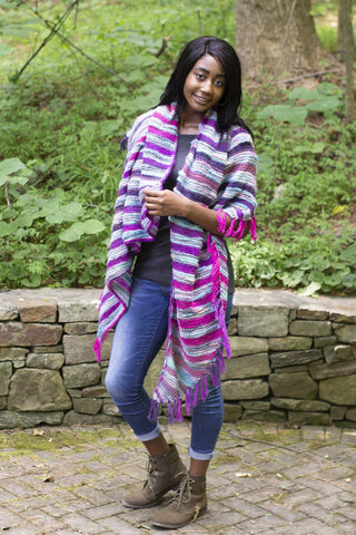 Berry Patch Cardi