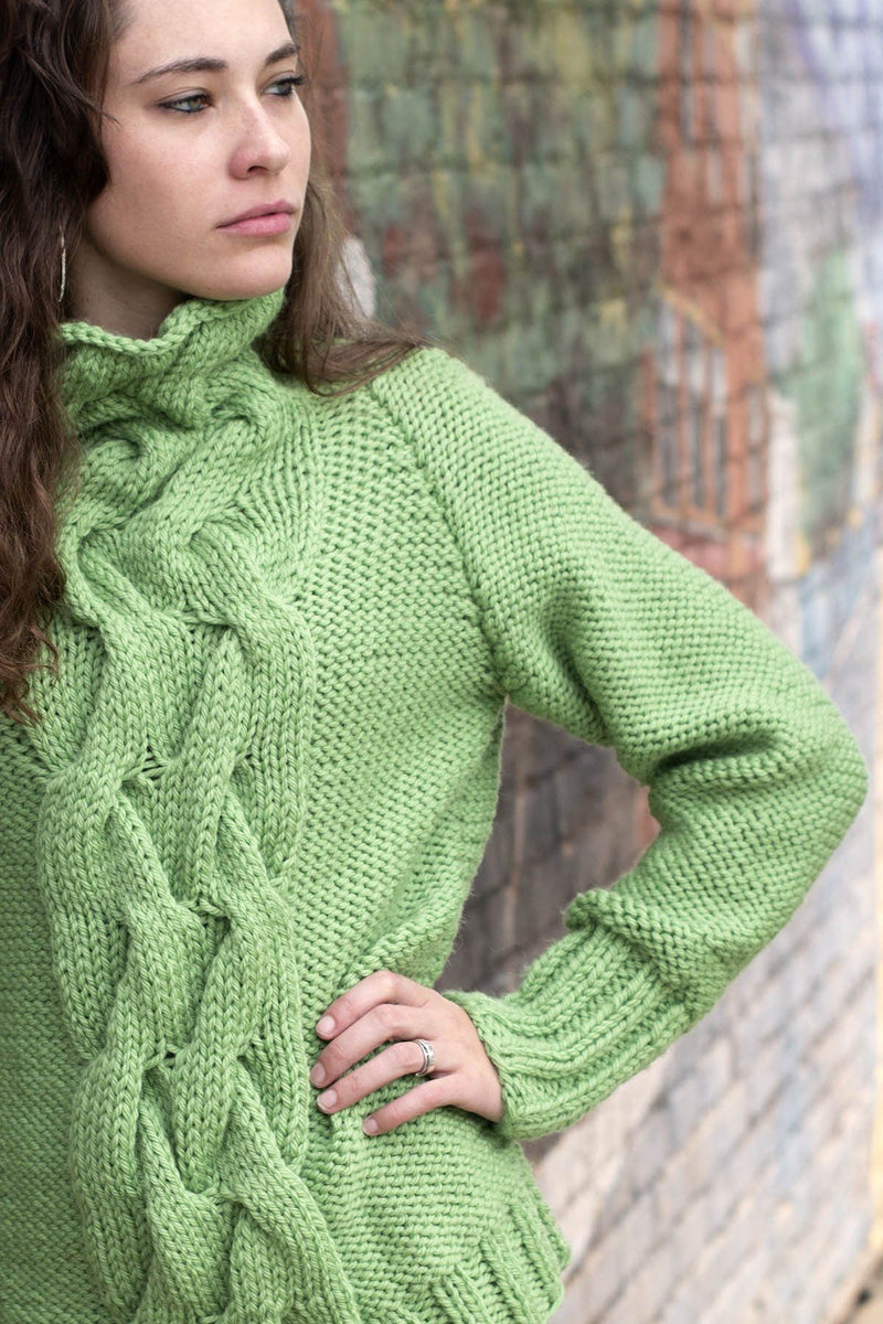 Sequoia Sweater Pattern Universal Yarn