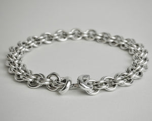 Chunky Pictish Silver Chain