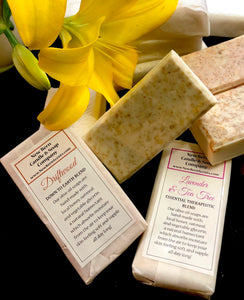 Handmade Honey and Oatmeal Soap Bars