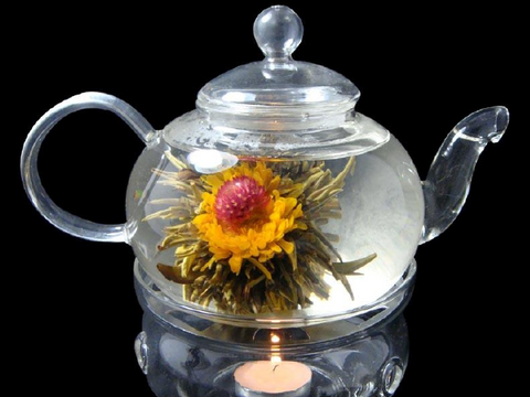 Glass Teapot & Warmer