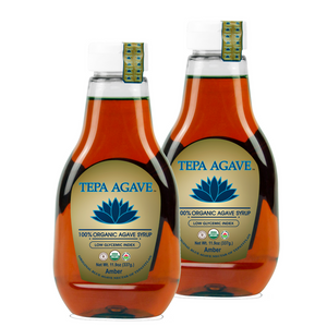 2 Pack Amber Agave Syrup 11.9 oz