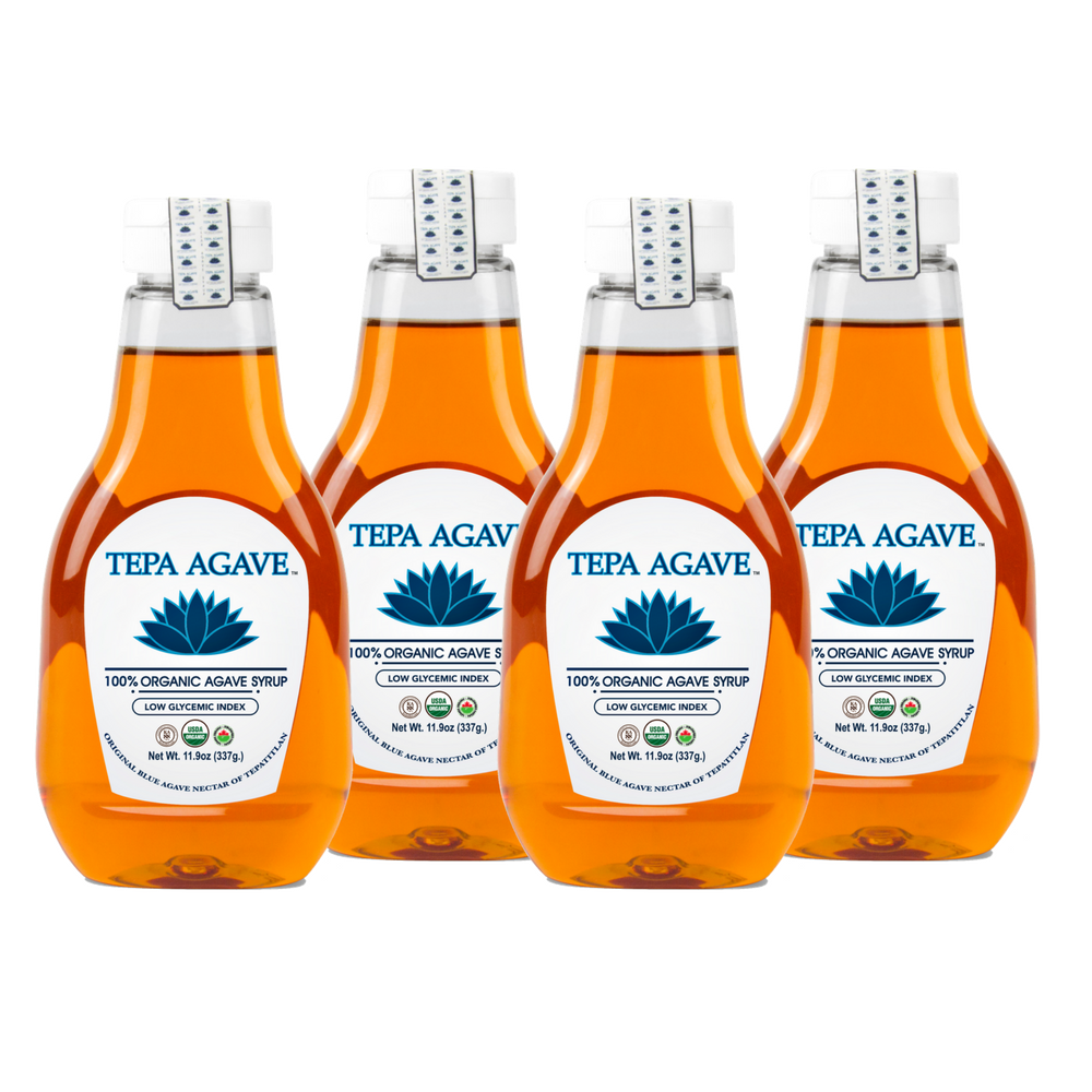 4 Pack Original  Agave Syrup 11.9oz