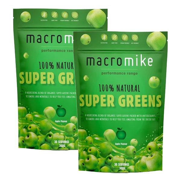 Twin Pack: All Natural Super Greens