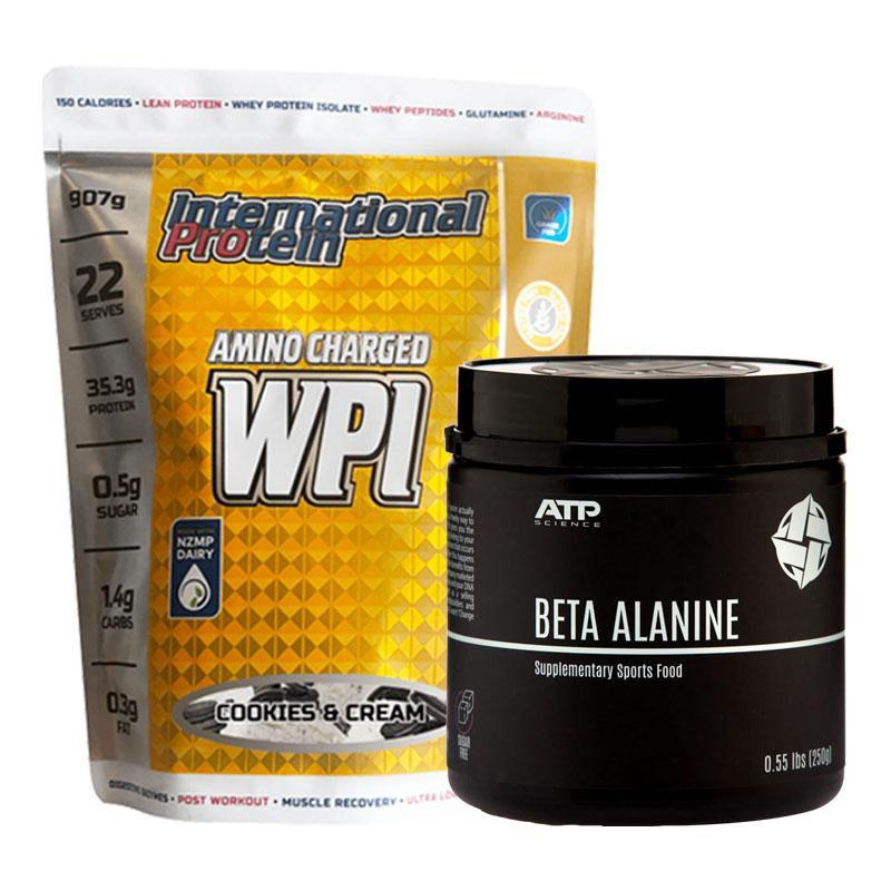 Amino Charged WPI + Beta Alanine Bundle | Fat Burnerz