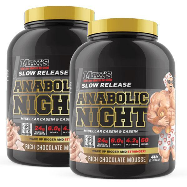 Anabolic Night Twin Pack - MAX's | Fat Burnerz