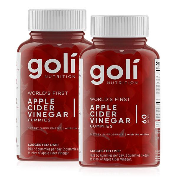Apple Cider Vinegar Gummies Twin Pack - Goli Nutrition | Fat Burnerz