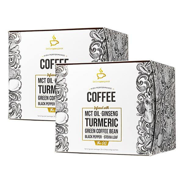 Twin Pack: One - High Performance Coffee (30 Sachet Box)