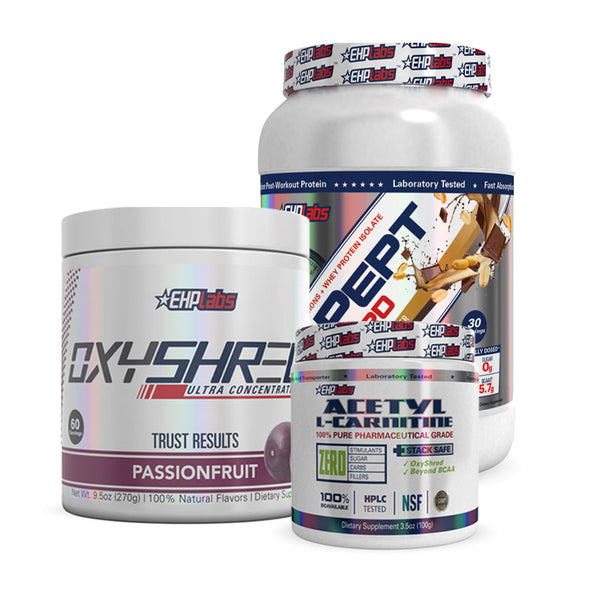 IsoPept + OxyShred + Acetyl L-Carnitine