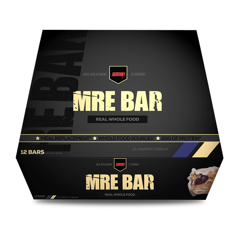 MRE Bar (Box of 12) - RedCon1 | Blueberry Cobbler