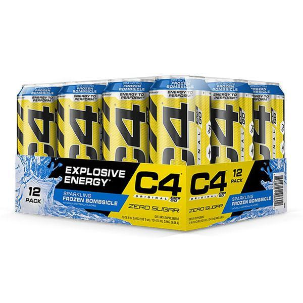 C4 Original Carbonated (12 Pack) - Cellucor | Frozen Bombsicle