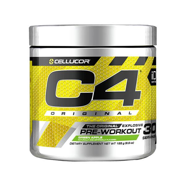 C4 Original Pre-Workout (30 serves) - Cellucor | Green Apple