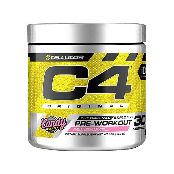 C4 Original Pre-Workout (30 serves) - Cellucor | Juicy Candy Burst