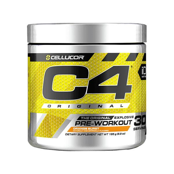 C4 Original Pre-Workout (30 serves) - Cellucor | Orange Burst