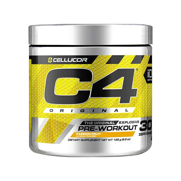 C4 Original Pre-Workout (30 serves) - Cellucor | Passionfruit