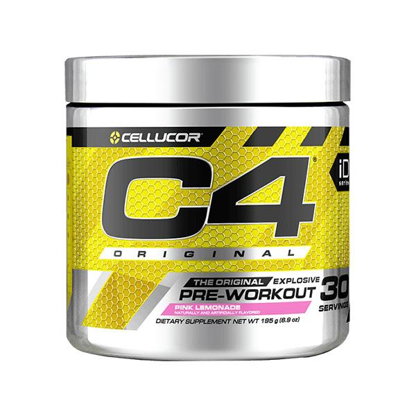 C4 Original Pre-Workout (30 serves) - Cellucor | Pink Lemonade
