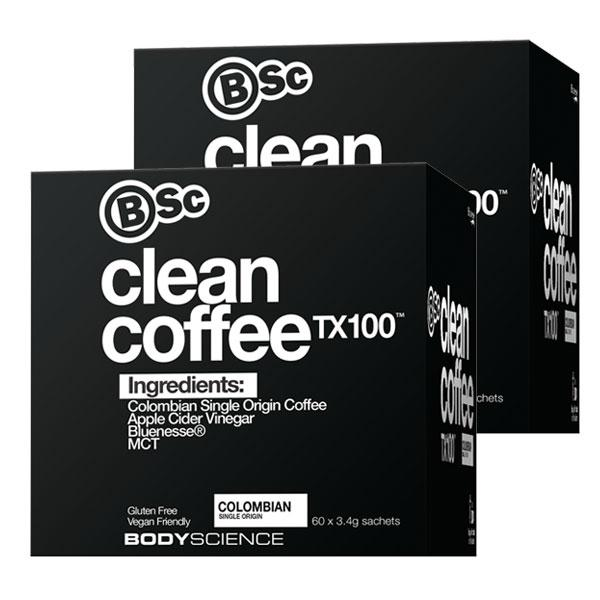 Twin Pack: Clean Coffee TX100