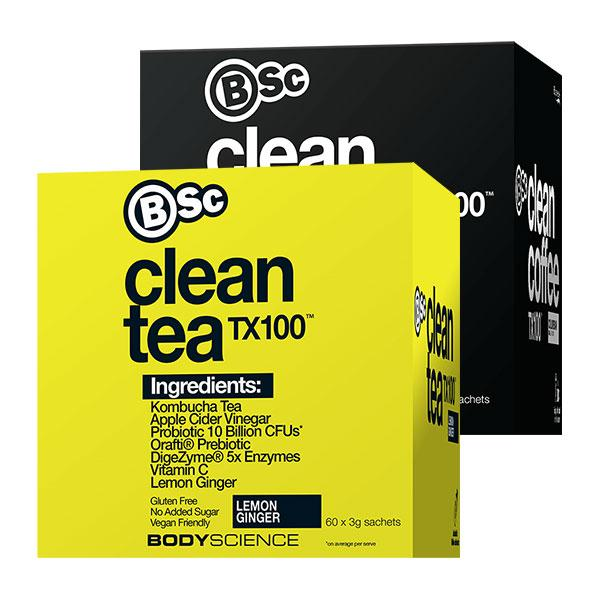 Clean Tea TX100 + Clean Coffee TX100