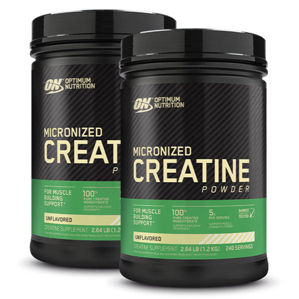 Twin Pack: Creatine Monohydrate
