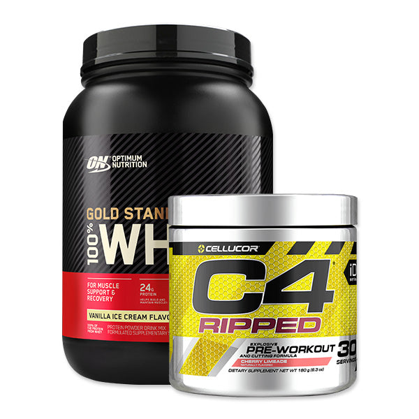 Gold Standard 100% Whey + C4 Ripped Bundle