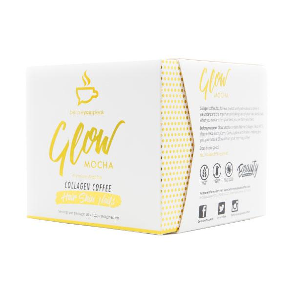 Glow - Collagen Coffee (30 Sachet Box)