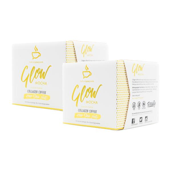 Twin Pack: Glow - Collagen Coffee (30 Sachet Box)