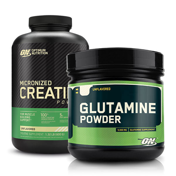 Glutamine + Creatine Monohydrate Bundle