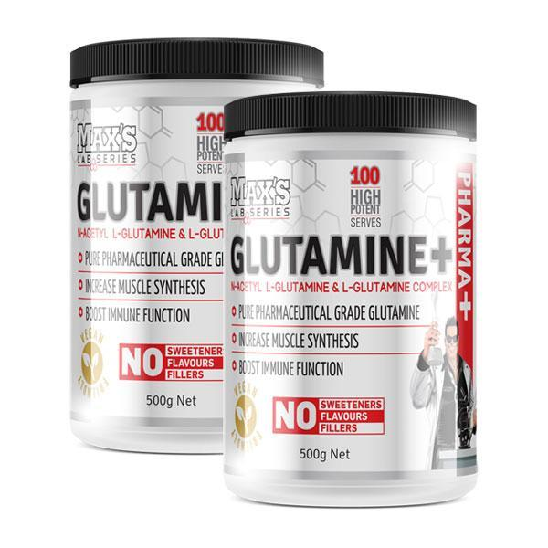 Glutamine+ - MAX's | Fat Burnerz
