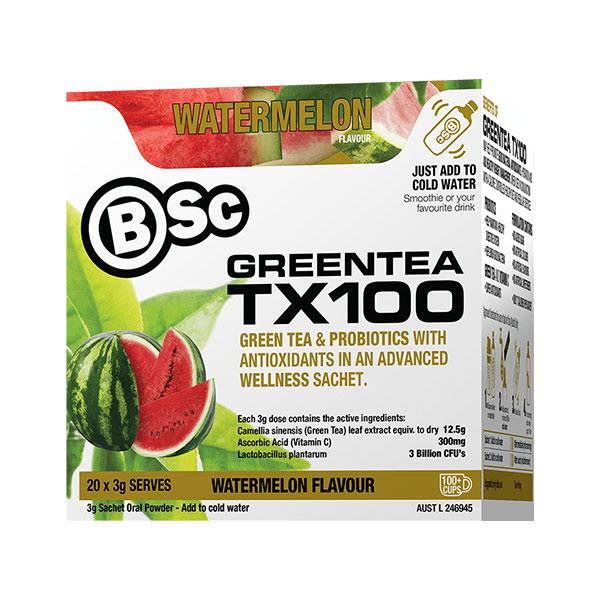 Green Tea TX100 - BSc | 20 Serves | Watermelon
