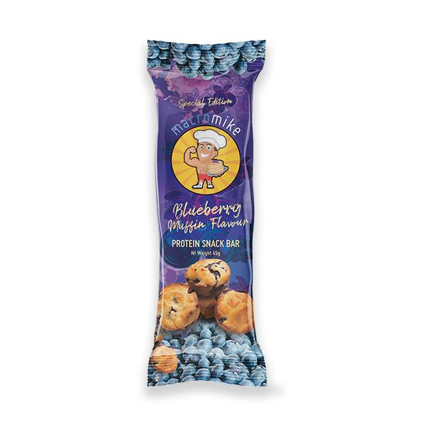 Blueberry Muffin Protein Snack Bar