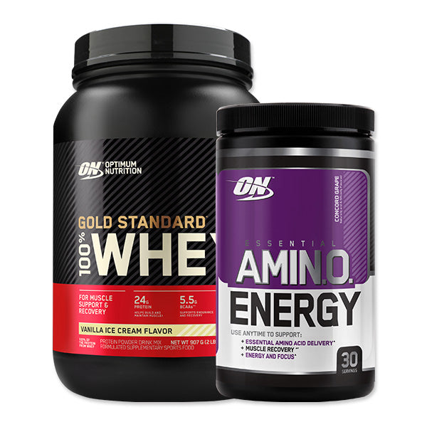 Gold Standard 100% Whey & Amino Energy Pack