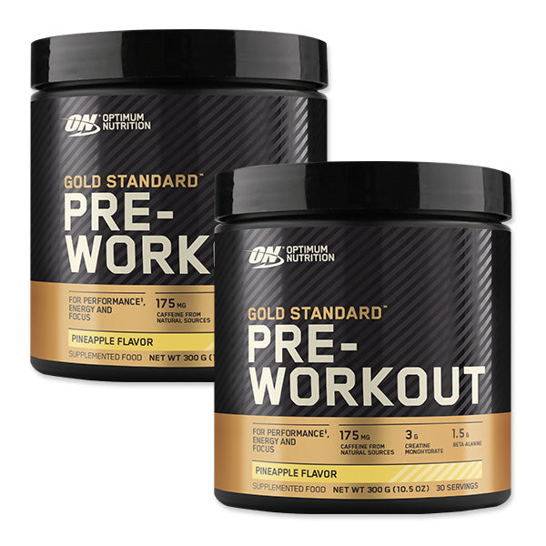 Twin Pack: Gold Standard Pre-Workout