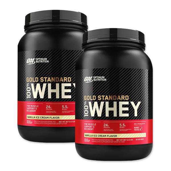 Twin Pack: Gold Standard 100% Whey