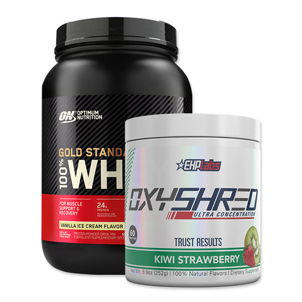 OxyShred & Gold Standard 100% Whey Protein Bundle