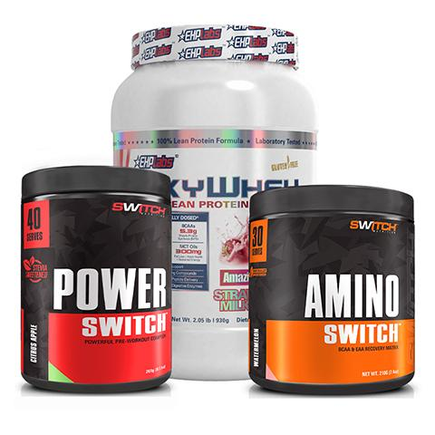 OxyWhey + Power Switch + Amino Switch Bundle