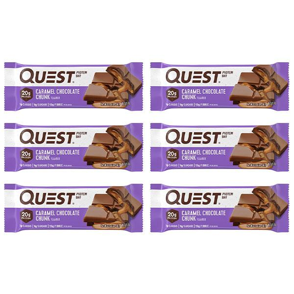Quest Bars 6 Pack - Quest Nutrition | Fat Burnerz